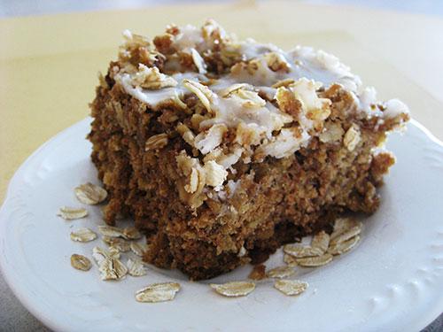 Рецепт овсяного пирога
