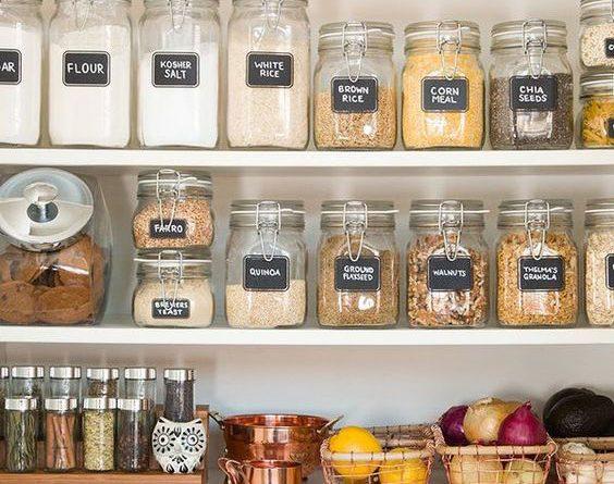 Запасы на кухне