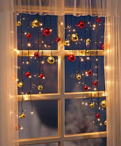 Гирлянда на окно